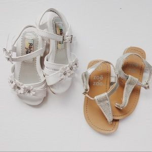 Toddler Girls Sandal Bundle | Size 5